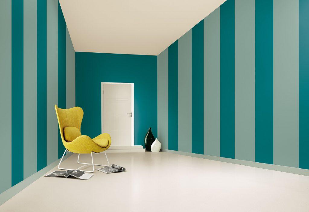 Pareti A Strisce Verticali : Trova il colore perfetto per te con il colour wall
