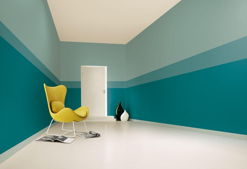 Pareti A Righe Verdi : Trova il colore perfetto per te con il colour wall